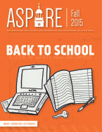 Aspire - Fall 2015 Cover