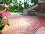 Alumni Brick Courtyard