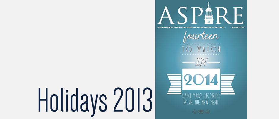 Aspire - Holidays 2013
