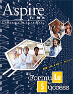 Aspire - Fall 2010 Cover