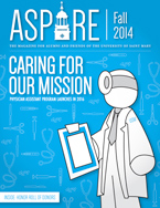 Aspire - Fall 2014 Cover