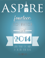 Aspire - Holidays 2013 Cover