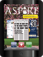 Aspire - Spring 2012 Cover