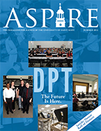 Aspire - Summer 2012 Cover
