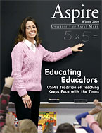 Aspire - Winter 2010 Cover