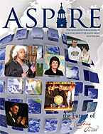 Aspire - Winter 2011 Cover