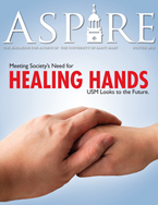 Aspire - Winter 2012 Cover