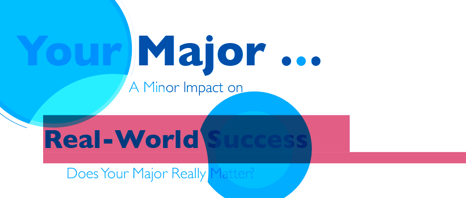 Your Major... A Minor Impact on Real-World Success. Does Your Major Really Matter?