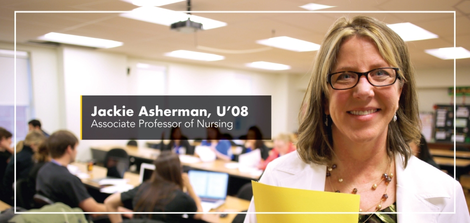 Jackie Asherman, U'08 - Associate Professor of Nursing