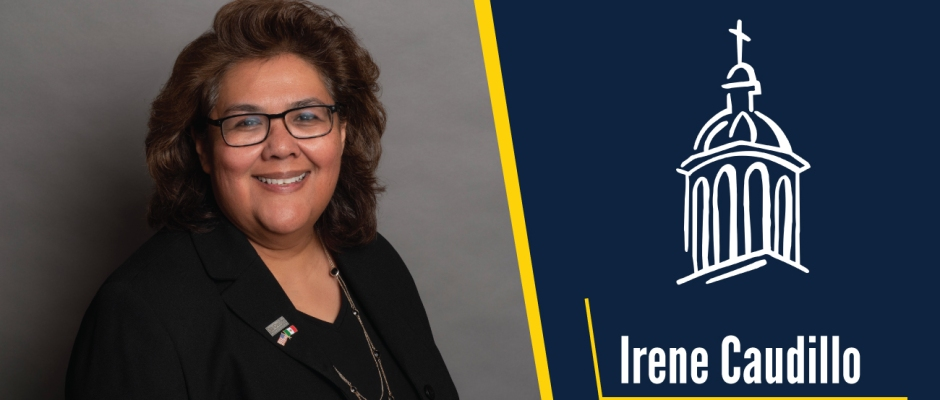 Trustee Irene Caudillo Receives SCL Vincentian Charism Award